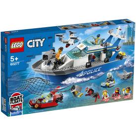 LEGO City Police 60277 Rendőrségi járőrcsónak