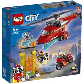 LEGO City Fire 60281 Tűzoltó mentőhelikopter