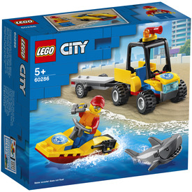 LEGO City Great Vehicles 60286 Tengerparti mentő ATV jármű