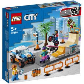 LEGO® City Gördeszkapark 60290