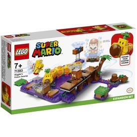 LEGO Super Mario 71383 Wiggler Mérgező mocsara kiegészítő szett
