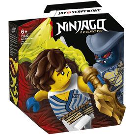 LEGO Ninjago 71732 Hősi harci készlet - Jay vs Serpentine