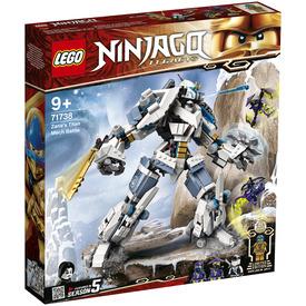 LEGO Ninjago 71738 Zane mechanikus Titánjának csatája