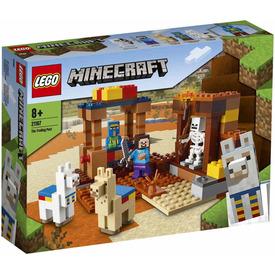 LEGO Minecraft 21167 A kereskedelmi állomás