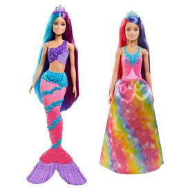 Barbie Dreamtopia varázslatos frizura baba