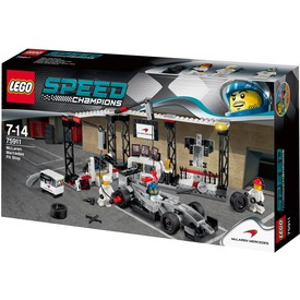 LEGO Speed Champions McLaren Mercedes box 75911
