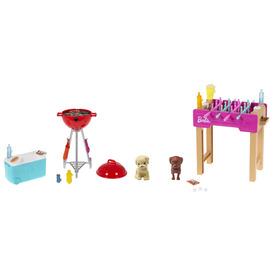 Barbie kerti játékszettek kisállattal