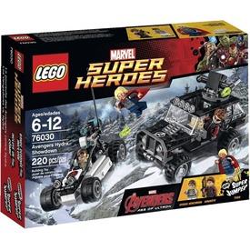 LEGO Super Heroes Bosszúállók Hidra erőpróbája 76030 Itt egy ajánlat található, a bővebben gombra kattintva, további információkat talál a termékről.