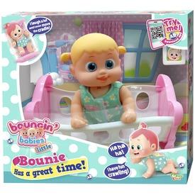 Bouncin Babies Bounie baba bölcsővel - 17 cm