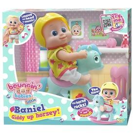 Bouncin Babies Baniel baba hintalóval - 17 cm