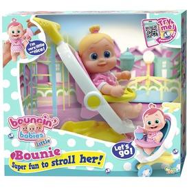 Bouncin Babies Bounie baba babakocsival - 17 cm