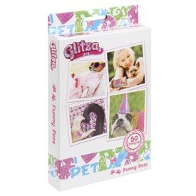 Glitza 50 minta- vicces állatok GLI07615