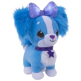Kívánságpajti kutyus - kék, 25 cm