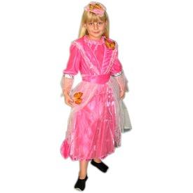 Pillangó hercegnő jelmez - rózsaszín, 140-es méret