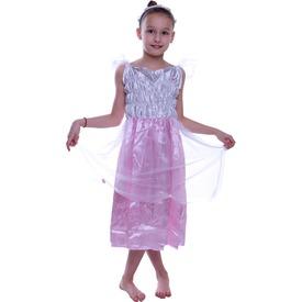 Tündér jelmez - rózsaszín-fehér, 85-ös méret