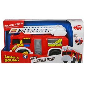 Dickie tűzoltóautó fénnyel és hanggal - 29 cm