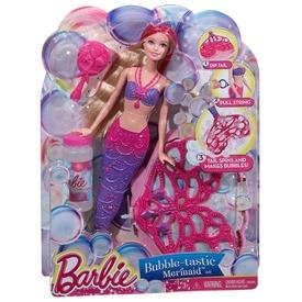 Barbie: Buborékfújó csodasellő Barbie baba Itt egy ajánlat található, a bővebben gombra kattintva, további információkat talál a termékről.