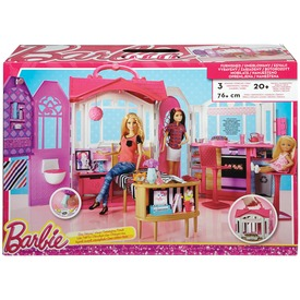 Barbie összecsukható ház