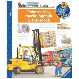 Teherautók, markolók és traktorok foglalkoztatókönyv Itt egy ajánlat található, a bővebben gombra kattintva, további információkat talál a termékről.