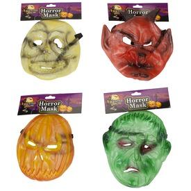 Halloween álarc - univerzális méret, többféle