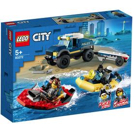 LEGO City 60272 Elit Rendőrség Hajószállító