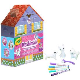 Crayola Washimals Kis házikó készlet