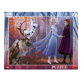 Puzzle 40 db - Jégvarázs