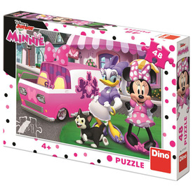Puzzle 48 db - Minnie és Daisy