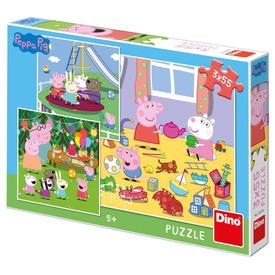 Puzzle 355 db - Peppa