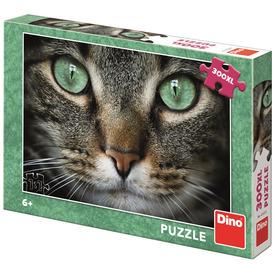 Puzzle 300 XL - zöld szemű cica