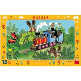 Kisvakond és a mozdony 15 darabos puzzle Itt egy ajánlat található, a bővebben gombra kattintva, további információkat talál a termékről.