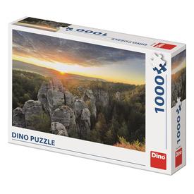 Puzzle 1000 db - Sziklás hegység