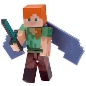 Minecraft Alex figura Elytra szárnyakkal - 8 cm