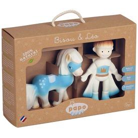 Papo Leo és Bisou figura készlet 35005