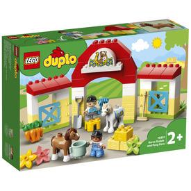 LEGO DUPLO Town 10951 Lóistálló és pónigondozás