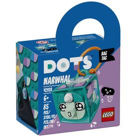 LEGO DOTS 41928 Narválos táskadísz