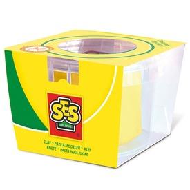 SES tégelyes gyurma - sárga, 90 g
