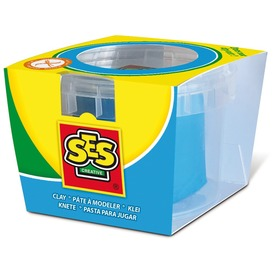 SES tégelyes gyurma - kék, 90 g