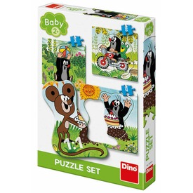 Kisvakond 3-4-5 darabos bébi puzzle