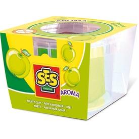 SES gyurma alma illattal - zöld, 90 g