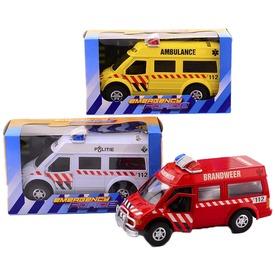 Sürgősségi furgon - 27 cm, többféle