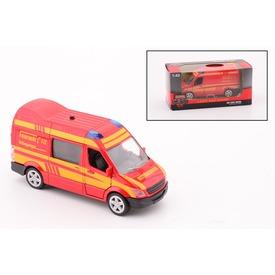 Tűzoltó autó fénnyel és hanggal - 1:43 Itt egy ajánlat található, a bővebben gombra kattintva, további információkat talál a termékről.