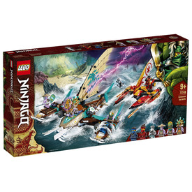 LEGO Ninjago 71748 Katamarán tengeri csata