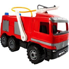 Mercedes-Benz műanyag tűzoltó autó - 65 cm
