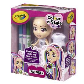 Crayola Colour n Style Friends Lavender