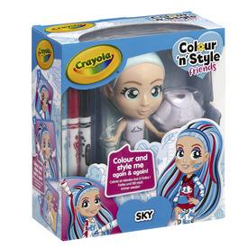 Crayola Colour n Style Friends - Sky