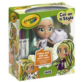 Crayola Colour n Style Friends - Jade