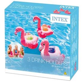 Intex 57500 Flamingó pohártartó 3 db - 33 x 25 cm