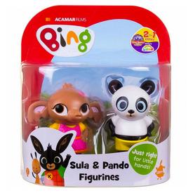 Bing és barátai 2db műanyag (Sula, Pando)