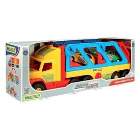 Super Truck sport autószállító 110 cm  Itt egy ajánlat található, a bővebben gombra kattintva, további információkat talál a termékről.